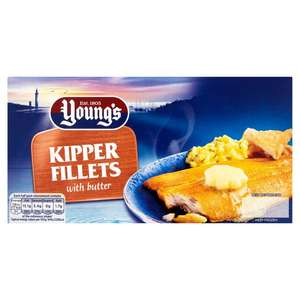 Youngs Scottish Kipper Fillets (170g) was £1.17 now 81p @ Morrisons