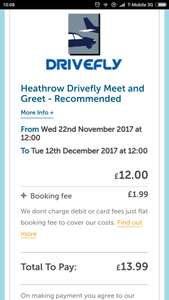 Meet and greet airport parking - showing up only  £12 for 12 days parking instead of £100 @ Skyparksecure