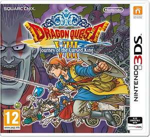 Dragon Quest VIII Journey of the Cursed King (Nintendo 3DS) £25 @ Amazon
