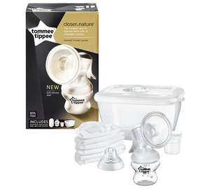 tommee tippee - Closer to Nature - Manual Breast Pump now £10 @ George Asda