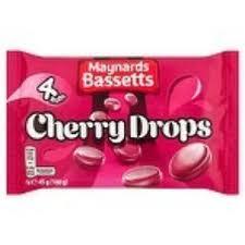 B+m Maynard Bassett cherry drops 4 pack for 10p
