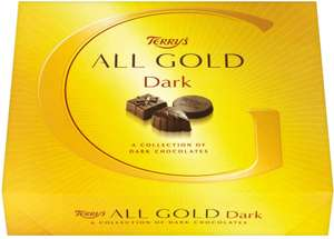 Terry's All Gold Milk or Dark Chocolate Box (380g) was £6.50 now £3.00 (Rollback Deal) @ Asda