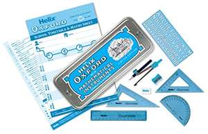 Blue Helix Oxford Maths Set £0.64 (Prime) / £4.63 (non Prime) at Amazon