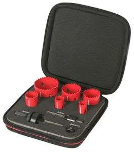 rothenberger 9 piece bi metal hole saw kit £29.99 - plumbcenter