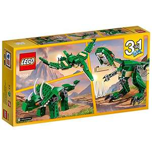 LEGO 31058 Mighty Dinosaurs Building Toy £9.60 (Prime) / £13.59 (non Prime) at Amazon