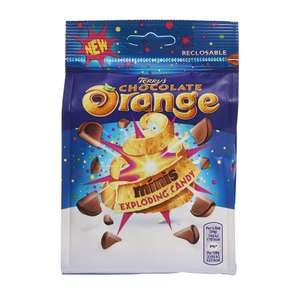 Terrys Chocolate Orange Mini Milk Chocolate Segments with real orange oil and popping candy pieces (136g) ONLY £1.00 @ Wilko