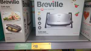 Breville Cafe Style Sandwich Press £18 instore @ Morrisons