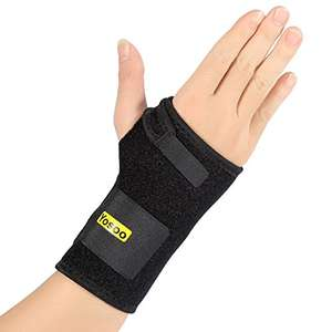 Left and right wrist supports for £1.56 (inc Prime Delivery / £5.55 non Prime) - Sold by zjchao and Fulfilled by Amazon