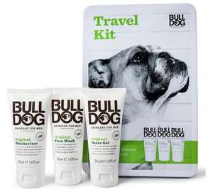 Bulldog Men's Travel Essentials - wof wof :) - £2.99 @ argos
