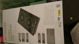 Ambiano Double induction hob 29.99 + more see below @ Aldi