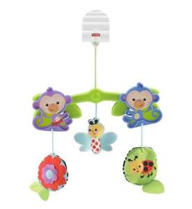Fisher Price Buggy/Pram Mobile £4.99 c+c @ Boots
