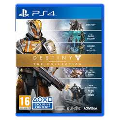 Destiny - The Collection at Game for PS4 & Xbox One pre-owned £4.99 free delivery