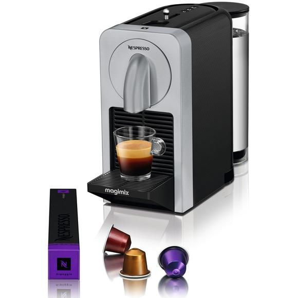 Nespresso - Silver 'Prodigio' coffee machine by Magimix 11307 - Was £160, now £80 @ Debenhams