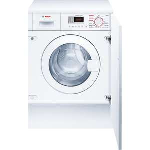 Bosch WKD28351GB Integrated Washer Dryer, 7kg Wash/4kg Dry Load, B Energy Rating, 1400rpm Spin, White ONLY £757.00 @ John Lewis