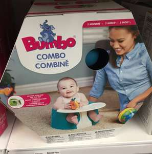 Bumbo combo seat with tray inStore ASDA £5