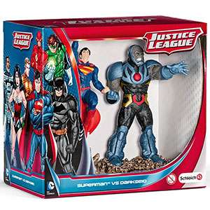Schleich: Justice League Superman vs. Darkseid RRP £19.99 now £4.99 @ Home Bargains
