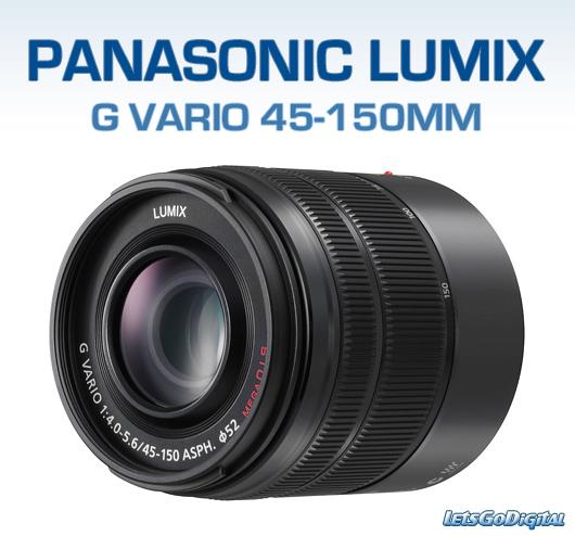 Mid-Range Lens - Panasonic H-FS45150AK Lumix G Vario 45-150mm f/4-5.6 ASPH. MEGA O.I.S. Lens £89.99 @ Eglobal Central