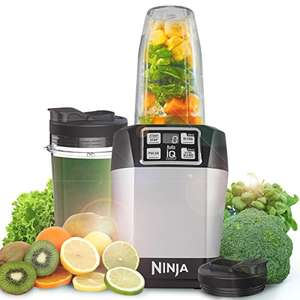 Nutri Ninja Blender with Auto IQ BL480UK (Silver) - now £37.06 (RRP £99.99) @ Amazon