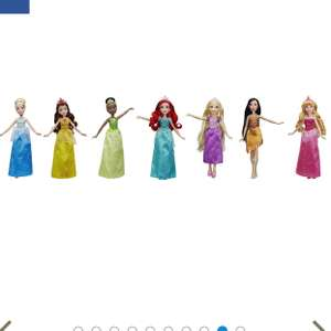 "Disney Princess 12"" dolls set of 7 - less than £6 each - £40  @ Tesco Direct (Free C&C)"