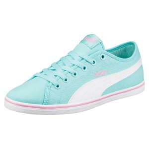 Puma sale + extra 30% off using voucher code: PUMAFAM17, e.g. Puma Elsu v2 Canvas Trainers for £14 from £39 plus plenty of other bargains. Free delivery over £60 (after discount) or £3.95