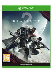 Destiny 2 on Xbox One & PS4 delivered for £38.85 from base.com