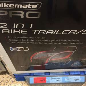 Bike trailer - Instore @ Aldi was £99.. now £49.99