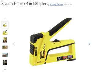 Stanley Fatmax 4 in 1 Stapler - Argos Clearance, stock nationally - £11.99 (C&C)