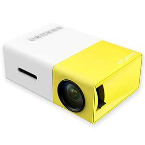 Deeplee YG300 Mini Projector - £29.99 Sold by DeepleeUK and Fulfilled by Amazon