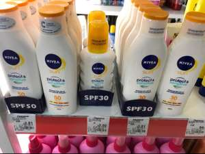 Nivea Sun Protect and Sensitive Spray high SPF 30-200ml - £2.50 instore @ Asda (Dartford)
