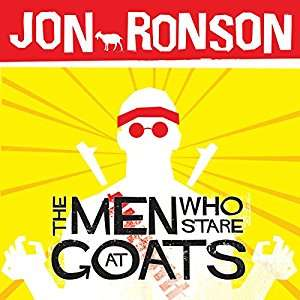Audible DOTD, The Men who stare at Goats (audio book) by Jon Ronson £1.99