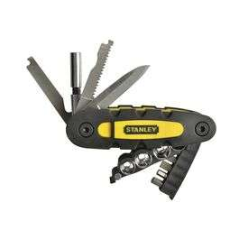 Stanley 14-Piece Multi-tool £5.00 with Free Click & Collect, Free Delivery on orders over £10 or £2.99 Delivery on orders under £10 @ Maplin