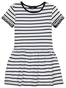 online asda george girls jersey striped dresses from £3 there is a selection of them that have been reduced from £5-£6 today
