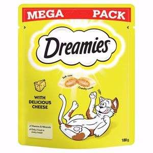 Glitch? Dreamies cheese Mega Pack 180g x6 pack £8.40 @ Amazon with Subscribe&Save cat treats other flavours too (£6 with 1st order code!)