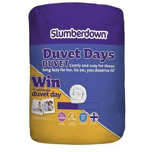 Slumberdown Duvet Days Double half price £10 @ Tesco direct