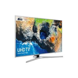 "Samsung UE40MU6400 HDR 4K Ultra HD Smart TV, 40"" with TVPlus & Active Crystal Colour, Silver - £499 @ John Lewis"