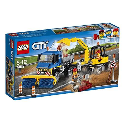 LEGO 60152 Sweeper & Excavator Set - £17.99 (Prime) £22.74 (Non Prime) @ Amazon