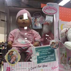 Baby annabell i care for you £19.99 tkmaxx