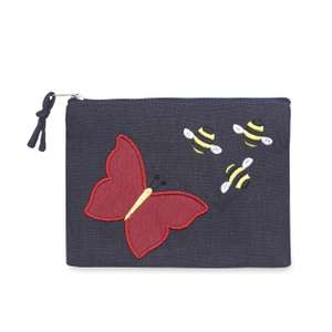 Fair Trade Butterfly Applique Purse £5.00 @ Laura Ashley.com FREE CLICK & COLLECT