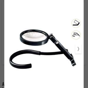 Auriol Magnifying Glass with or without LED Light £3.99 @ Lidl