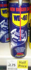 £2.75 WD40 450ml Smart Straw (Tesco Osterley)