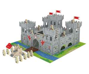 Chad Valley Wooden Castle Playset with Accessories £9.99 Delivered @ Argos Ebay **Low Stock**