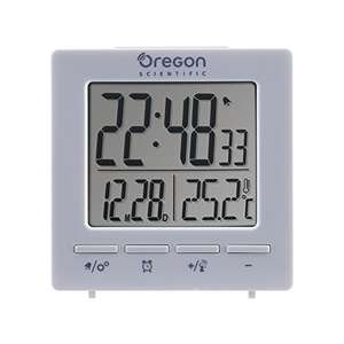 Oregon Scientific RM511 Radio Controlled Alarm Clock {White or Black} £4.99 (Prime / £8.98 non Prime) @ Smart Living/Amazon