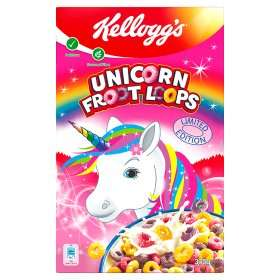 Limited Edition Kellogg's Unicorn Froot Loops £2.00 at Asda!