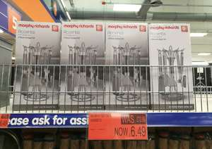 Morphy Richards Titanium 4 Piece Gadget Set - £4 instore @ B&M