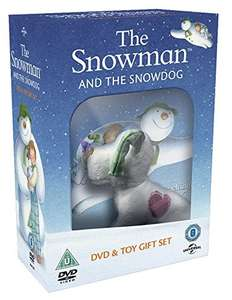The Snowman and the Snowdog (DVD and Plush Toy Gift) £4.50 delivered w/code @ Zoo