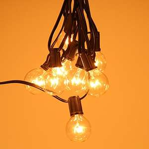 Globe Bulbs String Strip Light with E12 Socket £14.99