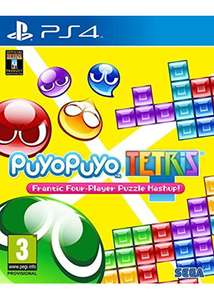 Puyo Puyo Tetris (PS4) ONLY £17.99 @ Base (+ Free Delivery)