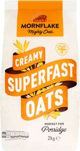 Mornflake Superfast Oats (2kg) was £2.22 now £1.75 (Rollback Deal) @ Asda
