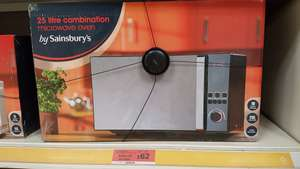 Sainsbury's 25L Combination Microwave Oven £62