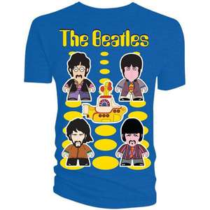Beatles T-Shirt: Yellow Submarine (Mens & Womens available) only £4.99 @ Forbidden Planet